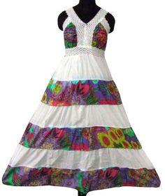 Ibaexports White Cotton Summer Wear Dress Girls « Clothing Impulse