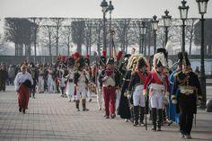 Reconstitution historique du retour de Napoléon - Crédits : J.S. /ECPAD Historical reconstruction of the return of napoléon - credits: J.s. / ecpad