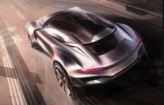 hanbin youn design Transport Auto Exterior Concept Sketch