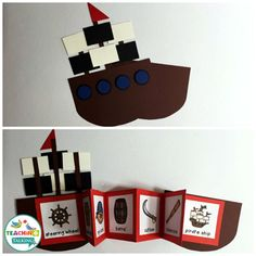Pirate themed Interactive Vocabulary Activities & Games for Speech Therapy by teachingtalking.com