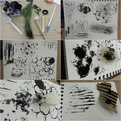 Mark Making Tools by Me