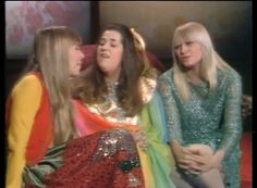 "gettingkindagroovy: "" Joni Mitchell, Mama Cass Elliot and Mary Travers """