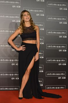 Cristina Marino - Candids Attending the Intimissimi On Ice Fashion Show in Verona, Italy October 7th 2016