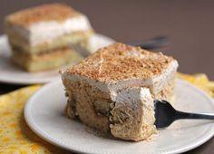 Grandbaby Cakes: Thanksgiving Sweet Potato Pie Tiramisu #sweetpotato #pie #tiramisu #thanksgiving