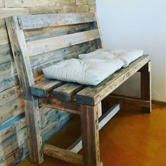 Such lovely Pallet seat
