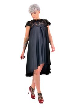 If you are looking for a romantic and delicate outfitour black dress, with flower embroidery is the perfect choice.  Please check our size chart before placing the order. If you have doubts or questions about it DO NOT HESITATEto contact us! We are here to help you! Flower Embroidery, Size Chart, Cold Shoulder Dress, Delicate, Romantic, This Or That Questions, Check, Outfits, Dresses