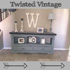 Custom refinished and built Buffet by Twisted Vintage AZ