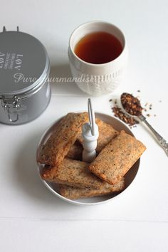 Financiers au th� - www.Puregourmandise.com