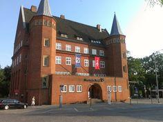 Stralsund - Gebäude der Deutschen Bank.