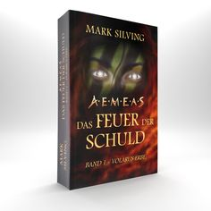 """Die Printversion von """"Volarus Erbe"""" (Aemeas. Das Feuer der Schuld 1) des Autors Mark Silving."""