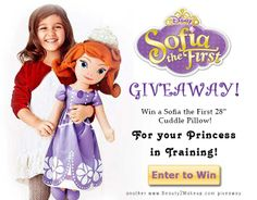 I just entered #SofiaTheFirst  #DisneyPrincess #Giveaway!  How about you?