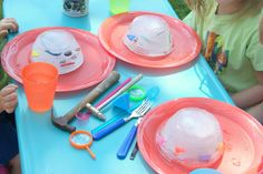 Ice Excavation Activity for Kids