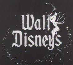 Vintage Walt Disney sign