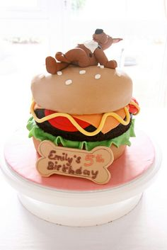 Scooby Doo Cake by Bake-a-boo Cakes NZ, via Flickr