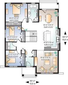House Plan chp-32635 at COOLhouseplans.com