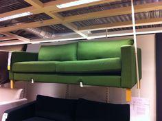 Groene bank Ikea