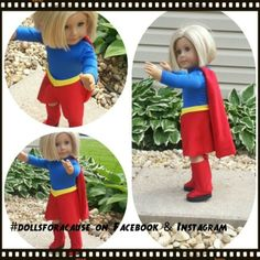 Super Girl- Auction live on ebay June 15th to support the Fisher House