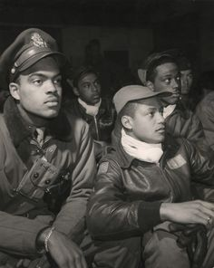 I am totally obsessed with the Tuskegee Airmen. I make sure my students know everything I know about them.