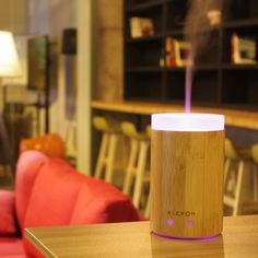 BAMBU Ultrasonic Aromatherapy Diffuser 150ml | 8hrs + Bonus Lid – Natural Essences - Homemade Bath Bombs, Candles and much more.