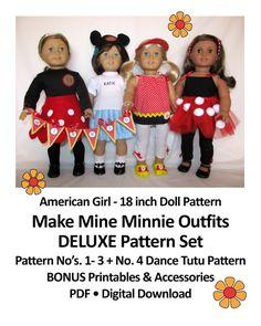 American Girl _ 18 inch Doll PATTERN _ Make by TateMuseumOnline