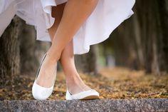 Pisos boda Ballet pisos pisos marfil satén pisos por walkinonair