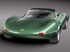 1966 Jaguar XJ13 V12 Prototype Sports Racer.