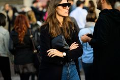 On the Streets of Paris Fashion Week Spring 2015 - Paris Fashion Week Spring 2015 Day 3