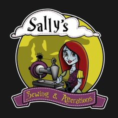 Awesome 'Sally%27s+Sewing' design on TeePublic!
