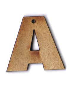 Letter A 1 inch wooden bead Letter Beads, Amazon Art, Sewing Stores, Wooden Beads, Sewing Crafts, Symbols, Lettering, Drawing Letters, Glyphs