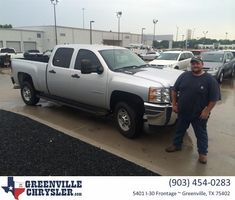 Congratulations Burke Michael on your #Chevrolet #Silverado 2500HD from Steve Han at Greenville Chrysler Jeep Dodge Ram!  https://deliverymaxx.com/DealerReviews.aspx?DealerCode=J122  #GreenvilleChryslerJeepDodgeRam