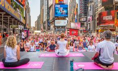 Find your center at the Crossroads of the World. Each year, thousands of yogis from around the world travel to Times Square to celebrate the Summer Solstice with free yoga classes in the heart of New York City. On the northern hemisphere's longest day of the year, become part of this global celebration with one of the classes taking place all day long on Monday, June 20.