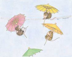 """Free Fallin'"" from House-Mouse Designs®. This image was recently purchased on a rubber stamp. Click on the image to see it on a bunch of other really ""Mice"" products."
