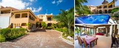 The most extravagant marina-front home in Puerto Aventuras. Built on a 855 m2 lot, Hacienda Nautica boasts 705m2 of construction, including a 49 ft. boatslip. The main floor consists of a spacious horseshoe kitchen, dining area, and sunken living room