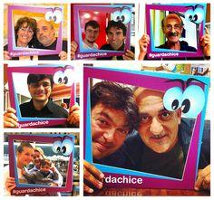 Tanti ospiti, amici e idee che partecipano alla nostra trasmissione..  #selfie #soddispassione #guardachice
