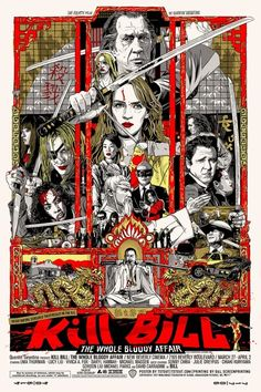 Sale of posters are already sold out. But this is a great Kill Bill interpretation by Tyler Stout for alamo drafthouse.