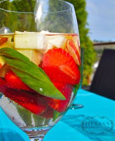 ... | Apple Cider Sangria, Fall Sangria and Strawberry Basil Sangria