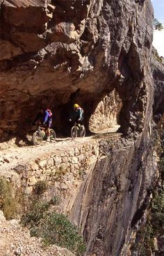 Ruta del Cares  Spain León BTT Senderismo hiking MTB