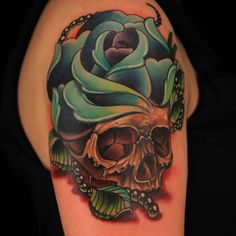 """Check out this high res photo of Katherine """"Tatu Baby"""" Flores's tattoo from the Double Tattoo episode of Ink Master on Spike.com."""