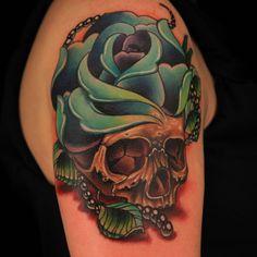 one of my favorite tattoos from season 3 of ink master (by tatu baby) Ink Master Tattoos, Baby Tattoos, Cute Tattoos, Tattoos For Guys, Awesome Tattoos, Tatoos, Random Tattoos, Beautiful Tattoos, Skull Rose Tattoos
