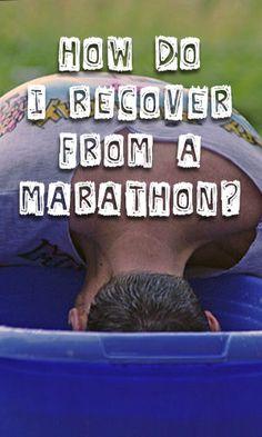 How Do I Recover from a Marathon?