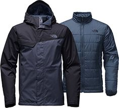 The North Face Beswick Triclimate Jacket Mens Shady Blue/Urban Navy Large
