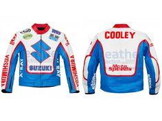 Wes Cooley Yoshimura Suzuki AMA Race Jacket  https://www.leathercollection.com/en-we/wes-cooley-yoshimura-suzuki-ama-race-jacket.html  #Suzuki_Race_Jacket, #Wes_Cooley_Yoshimura_Suzuki_AMA_Race_Jacket, #Yoshimura_Suzuki