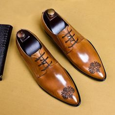 Lace Oxfords, Oxfords For Men, Men's Brogues, Men's Loafers, Brown Dress Shoes, Men's Dress Shoes, Gentleman Shoes, Custom Design Shoes, Formal Shoes For Men