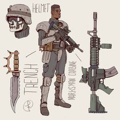 Fallout Concept Art, Fallout Art, Weapon Concept Art, Apocalypse Character, Apocalypse Art, Character Drawing, Character Concept, Desenho Scooby Doo, Post Apocalyptic Art