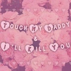 hmpf dont you dare touch my daddy! Daddys Little Princess, Daddy Dom Little Girl, My Daddy, Little Kitty, Little My, Daddys Girl Quotes, Ddlg Quotes, Ddlg Little, Daddy Kitten