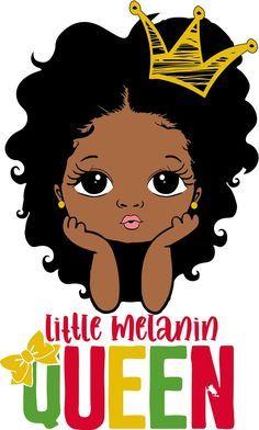 Black Love Art, Black Girl Art, Black Girl Magic, Art Girl, Cute Baby Drawings, African Art Paintings, Black Girl Cartoon, Black Art Pictures, Black Artwork