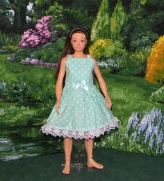 LMLY-41 ) Lammily doll clothes ( 1 summer dress)