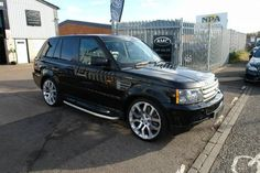 2007 Land Rover Range Rover Sport 3.6 TDV8 HSE 5dr Auto 22 INCH ALLOYS OVERFINCH | £15,995