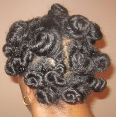 Stretched Bantu Knot-Out on Natural Hair Bantu Knot Hairstyles, 2015 Hairstyles, Protective Hairstyles, Curly Nikki, Curly Fro, Black Natural Hair Care, Black Hair Care, Bantu Knot Out, Bantu Knots