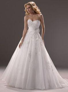 Melisa svatební šaty s krajkou - plesové šaty, svatební šaty, společenský salón